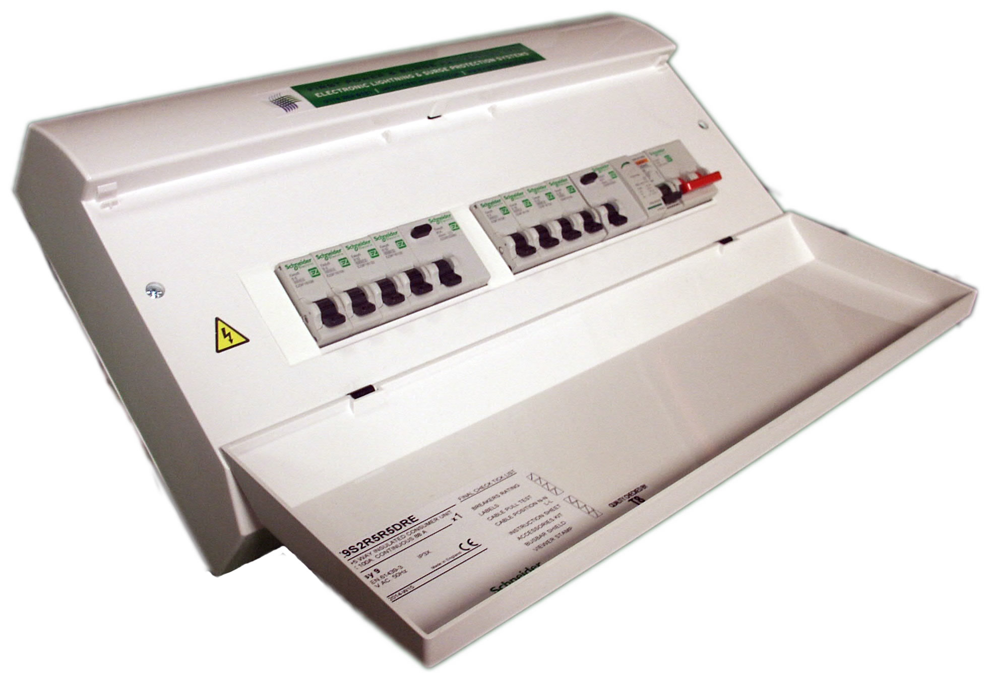 Consumer unit rcd business office wylex way